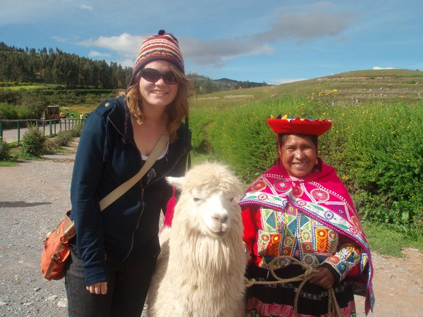 Cultural Exchange on educational tour in Peru