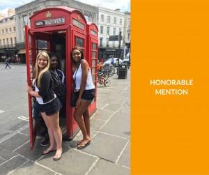 Explorica students enjoying their educational tour in London.