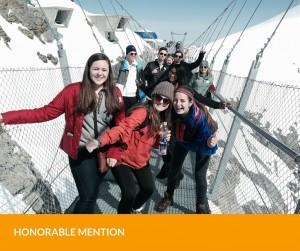 Explorica students enjoying their educational trip in Switzerland.