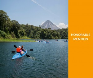 An Explorica student enjoying the outdoors in Costa Rica